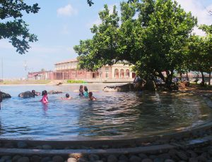 batis-inspired swimming pool