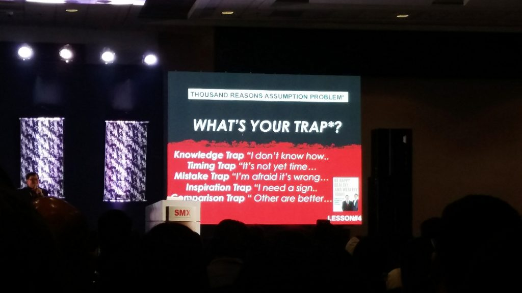 Dean Pax Lapid Discussing The Traps
