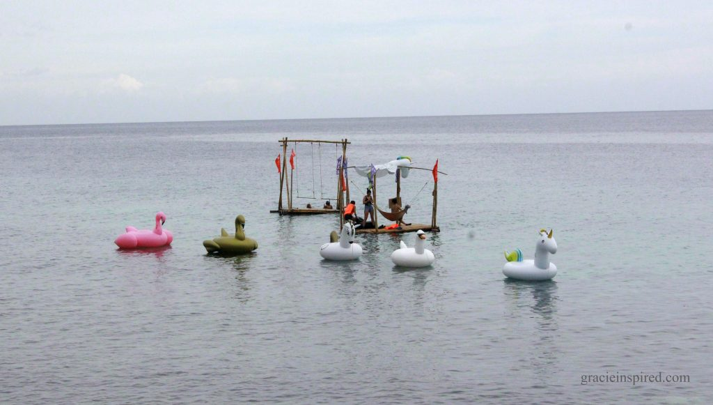 Unicorn floats and Bamboo rafts