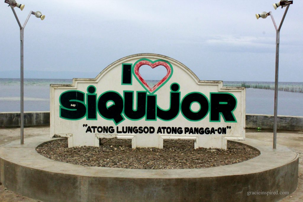"""I Love Siquijor"" Landmark"