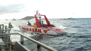 Diamond Water Sports' Boat