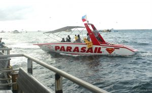 Boat for Parasailing