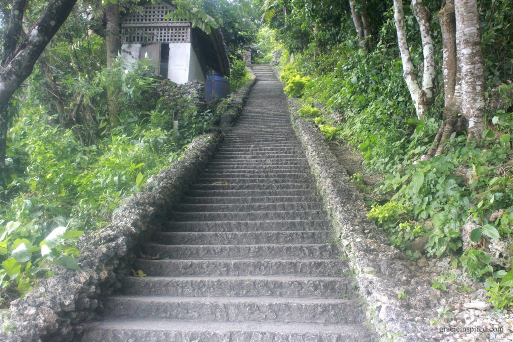 Concrete Steps to Ocean Tower