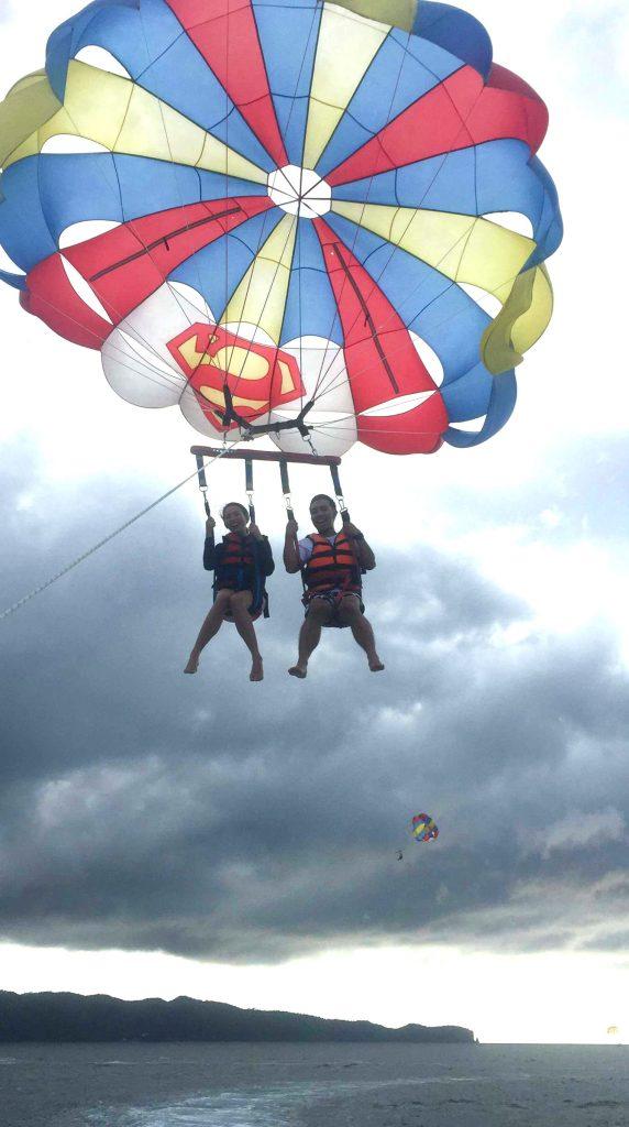Woo! We're Flying!