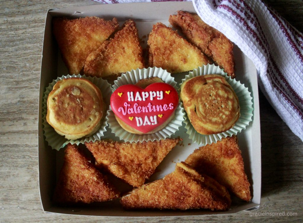 A box of sweet and savory treats ready to be given with love