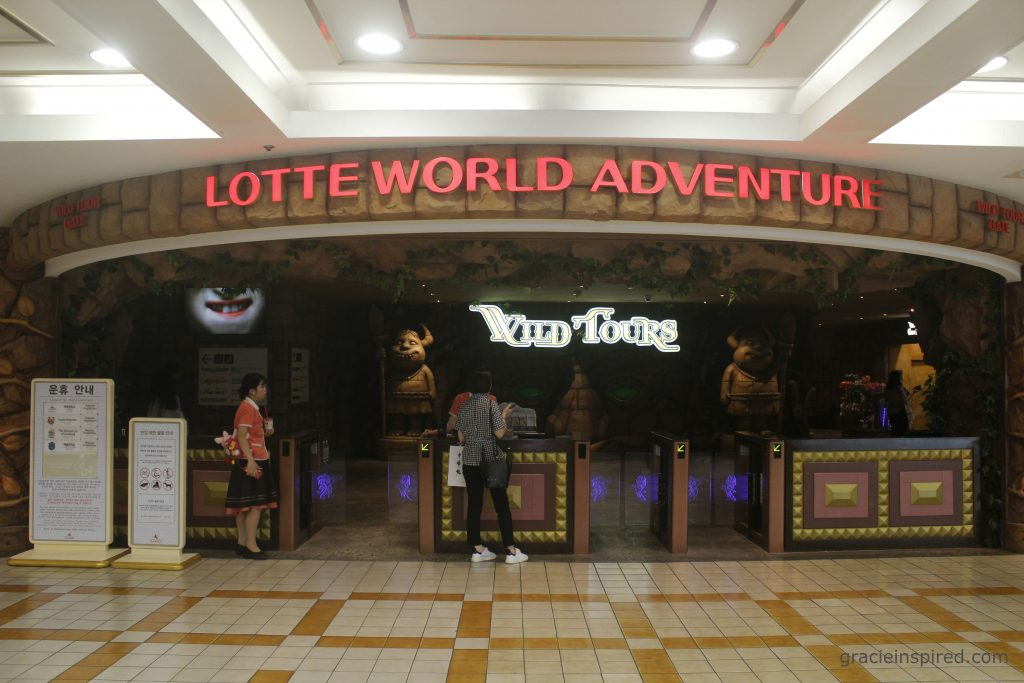 Lotte World Wild Gate Entrance