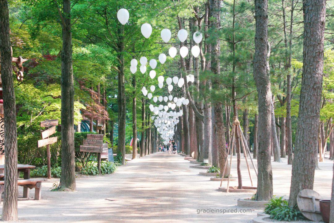Gracie Inspired South Korea Travel Series Part 4 Nami Island